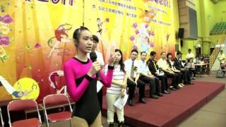2011全港小學體操邀請賽 運動員代表宣誓