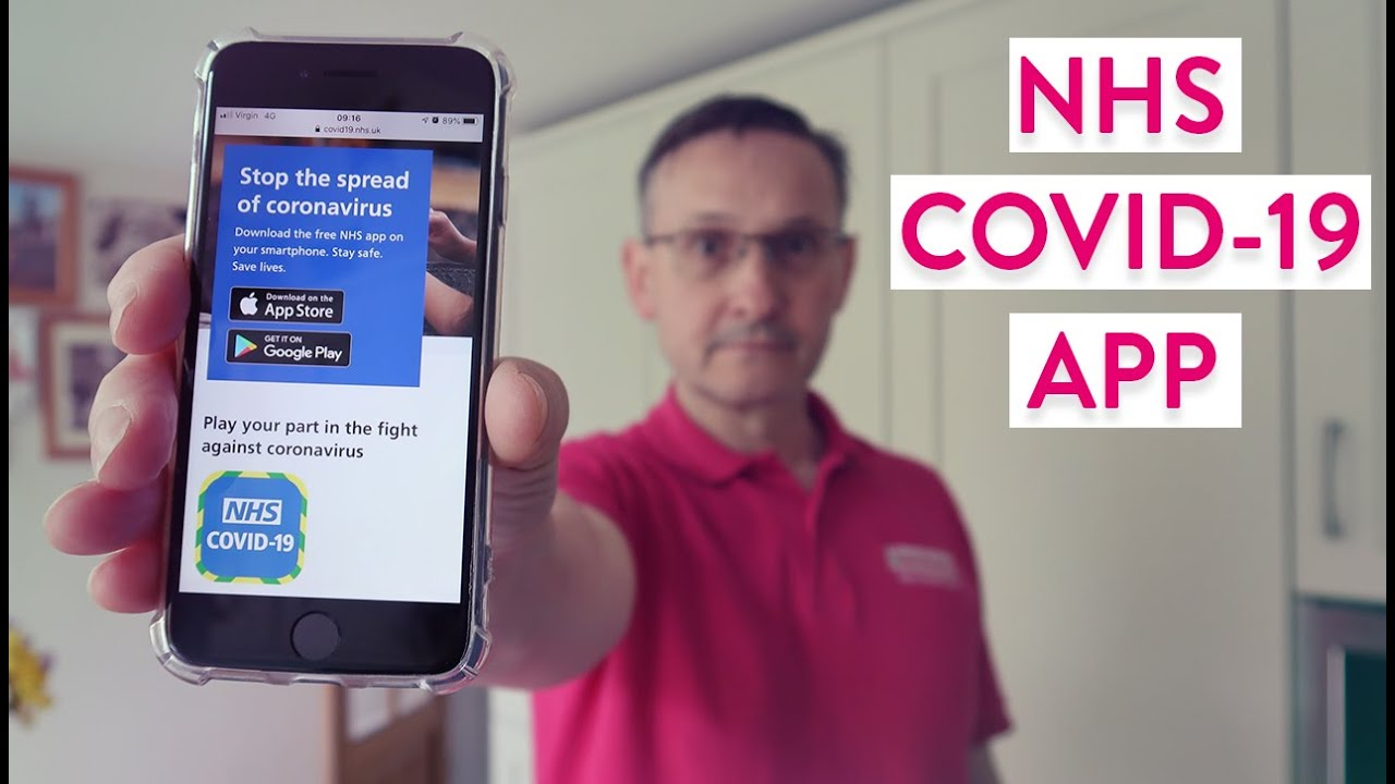 Nhs Covid 19 App What Is It How Does It Work Is It Accessible For Visually Impaired Users Youtube