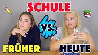 SCHULE - FRÜHER vs. HEUTE | Schüler die Jeder kennt | Mit JANASDIARY | Annaxo