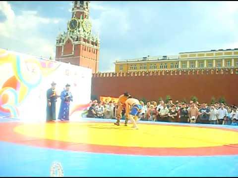 Бухэ барилдаан на Красной площади. Финал за 3-е место
