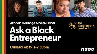 Ask a Black Entrepreneur (Live Event Recording)