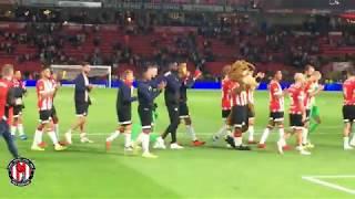PSV Support: PSV-FC Utrecht : 11/8/2018 : 4-0