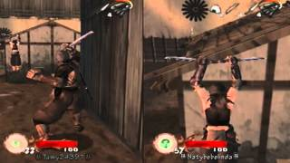 Tenchu: Wrath Of Heaven PS2 Multiplayer Coop Mission 2 Fort ω/ ㊓Tamy24391㊓ HD