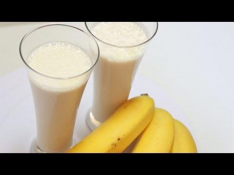 Смузи с яблоком и бананом