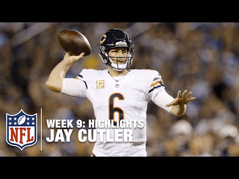 Jay Cutler Highlights (Week 9) | Bears vs. Chargers | NFL