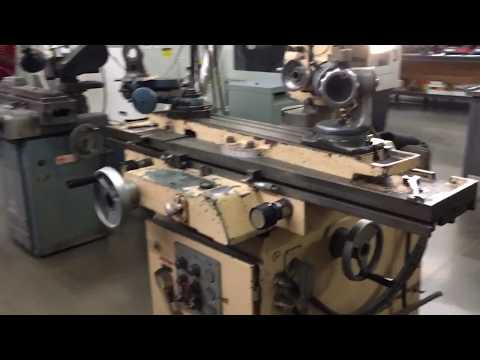 A little bit about tool and Cutter grinders