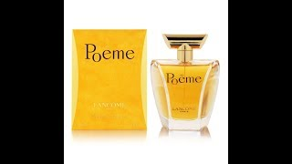 Lancome Poeme Fragrance Review (1995)