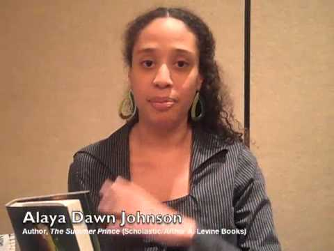 "Alaya Dawn Johnson, author of ""The Summer Prince"" (Scholastic/Arthur A. Levine Books)"