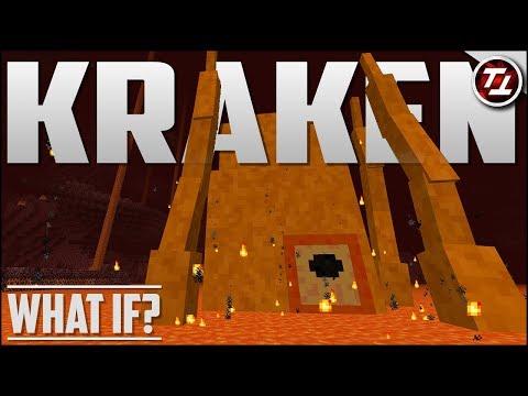 What If Minecraft Had A Lava Kraken?!