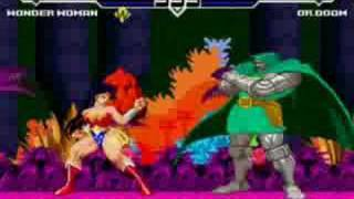 Wonder Woman vs. Dr. Doom