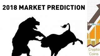 Cryptocurrency Market in 2018 - The Prediction