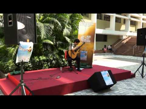 Hawaiian Slack Key Guitar Performance by Jeff Peterson (complete version)