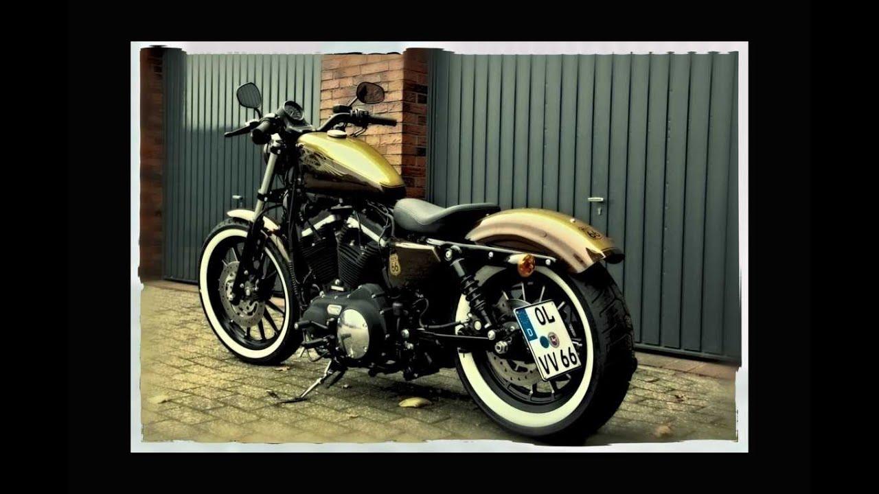 Harley Davidson Sportster Iron 883 & Seventy Two 2012 Part ...