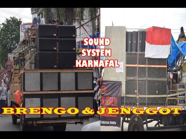 Brengos & Jenggot Sound Sistem Horeg di Karnaval 17 Agustus 2018 Banyuwangi