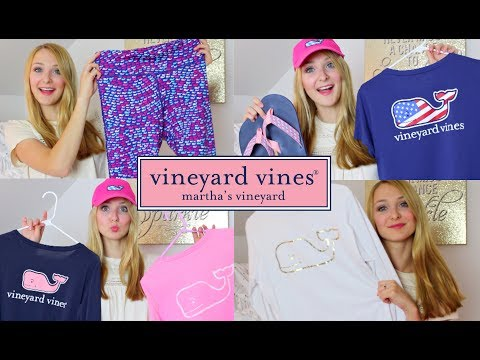Vineyard Vines Collection | PREPPY HAUL!