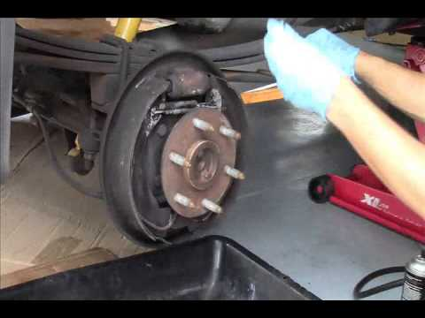 How to Clean and Adjust Drum brakes in Six minutes! DIY