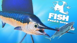 НОВАЯ РЫБА МЕЧ ПОКОРЯЕТ ОКЕАН! ОБНОВЛЕНИЕ!   Feed and Grow Fish