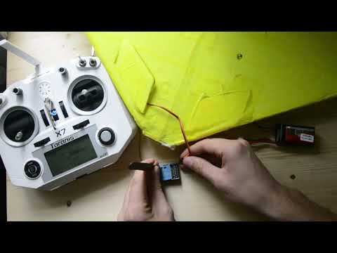 How to bind FrSky Delta-8 to Taranis Q X7