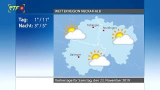 RTF.1-Wetter 22.11.2019