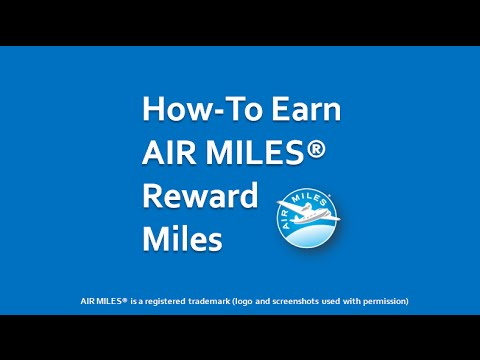 How to Earn AIR MILES YouTube