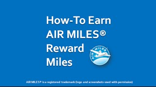 How to Earn AIR MILES