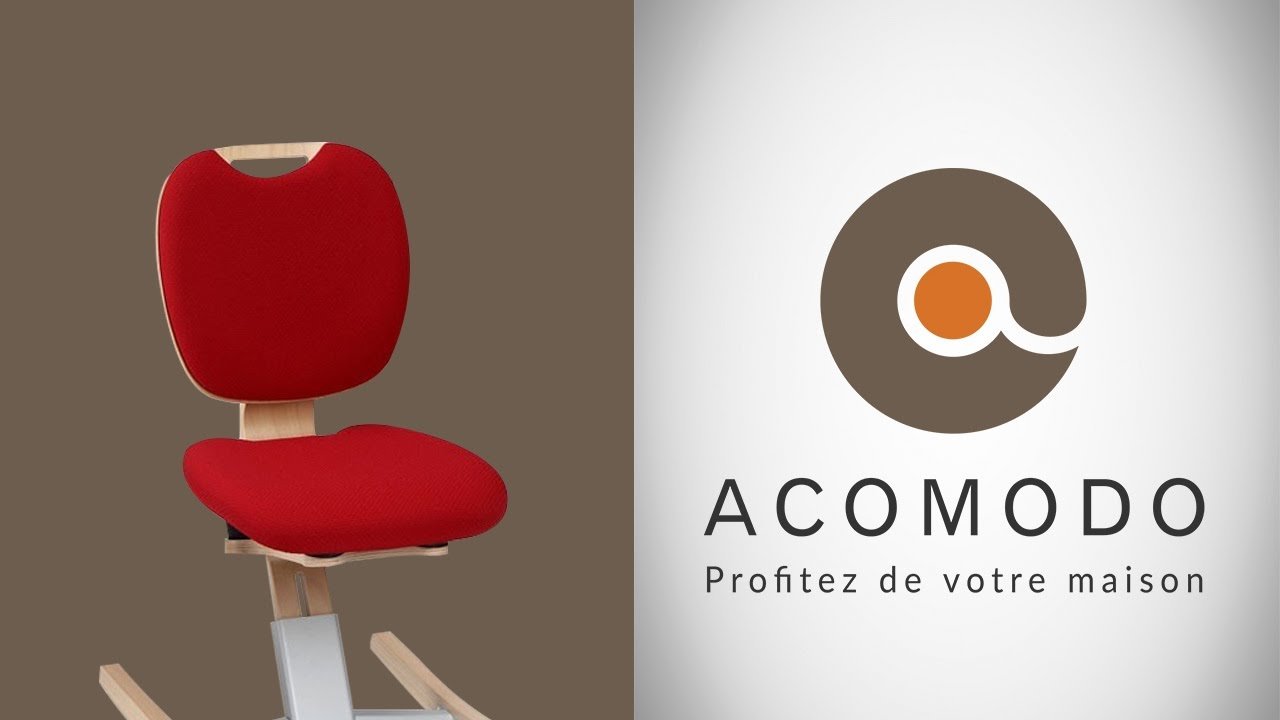Acomodo chaise bascule assise haute youtube for Chaise youtuber