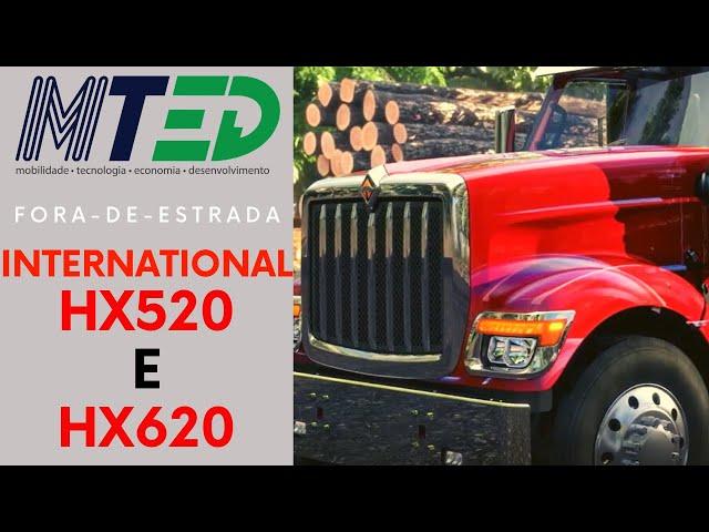 INTERNATIONAL TRUCKS HX520 E HX620 - MTED