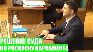 СРОЧНО! Конституционный суд признал законным решение Зеленского о роспуске парламента!