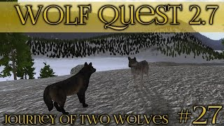 Earning A Pack Name 🐺 Wolf Quest 2.7 - Brothers Journey || Episode #27