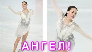 АНГЕЛ Загитова выступила в Японии в новом серебряном платье