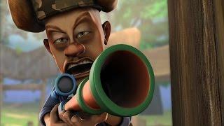 Медведи-соседи 🐻 | 2 сезон 91 серия | Отличное новое оружие охотника Вика | Мультики детям