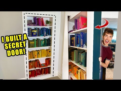 I Built A Secret Bookshelf Door In My House