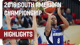 Bolivia (BOL) v Venezuela (VEN) - Game Highlights - Group A - 2016 FIBA South American Championship