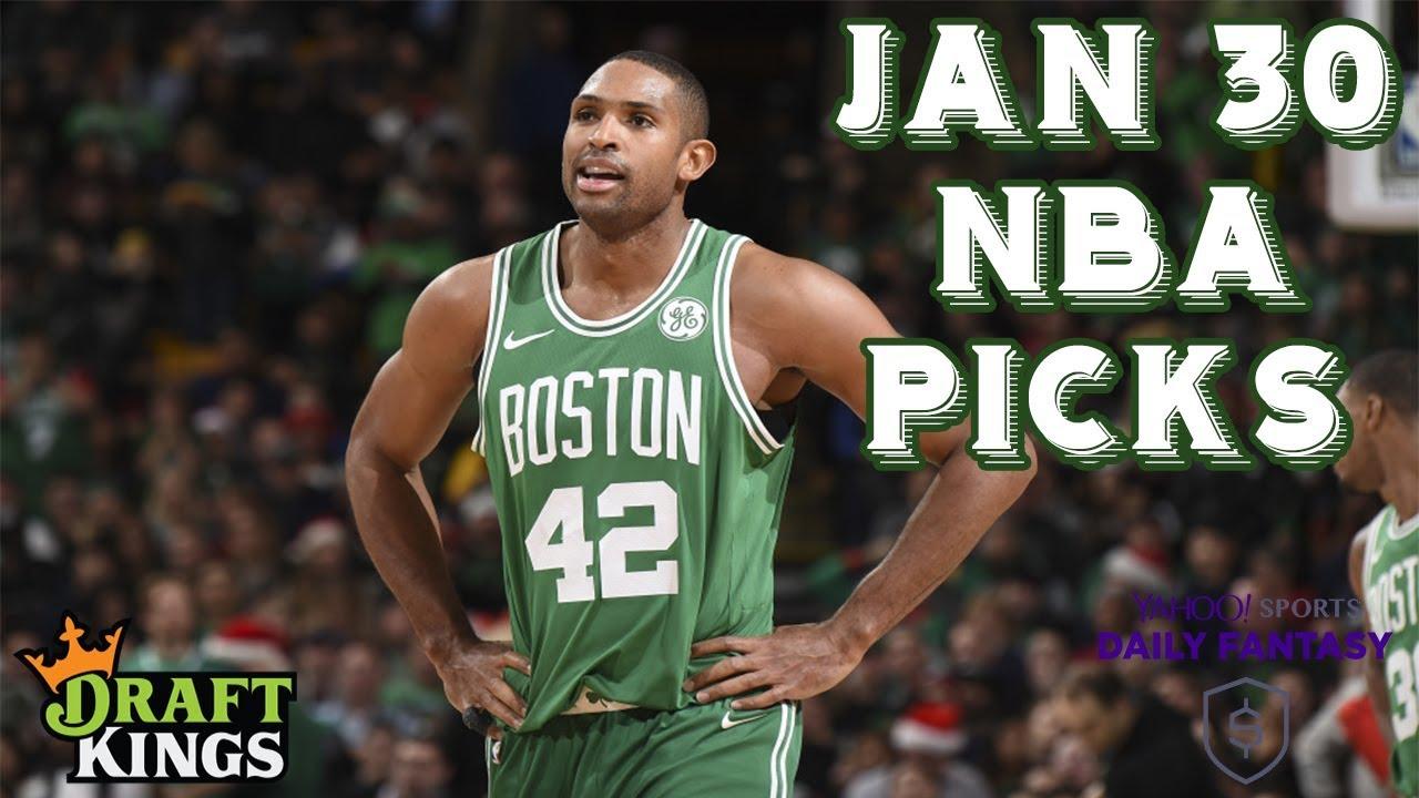 2aff746ceb5 1 30 19 NBA DraftKings   Yahoo Picks - YouTube