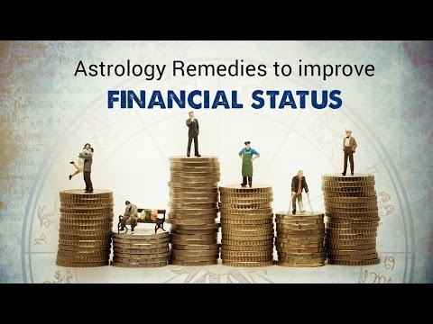 Astrology Remedies to improve financial status