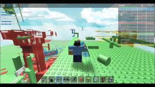 Roblox: Red Vs Blue Vs Green Vs Yellow Doomspire Partie 1