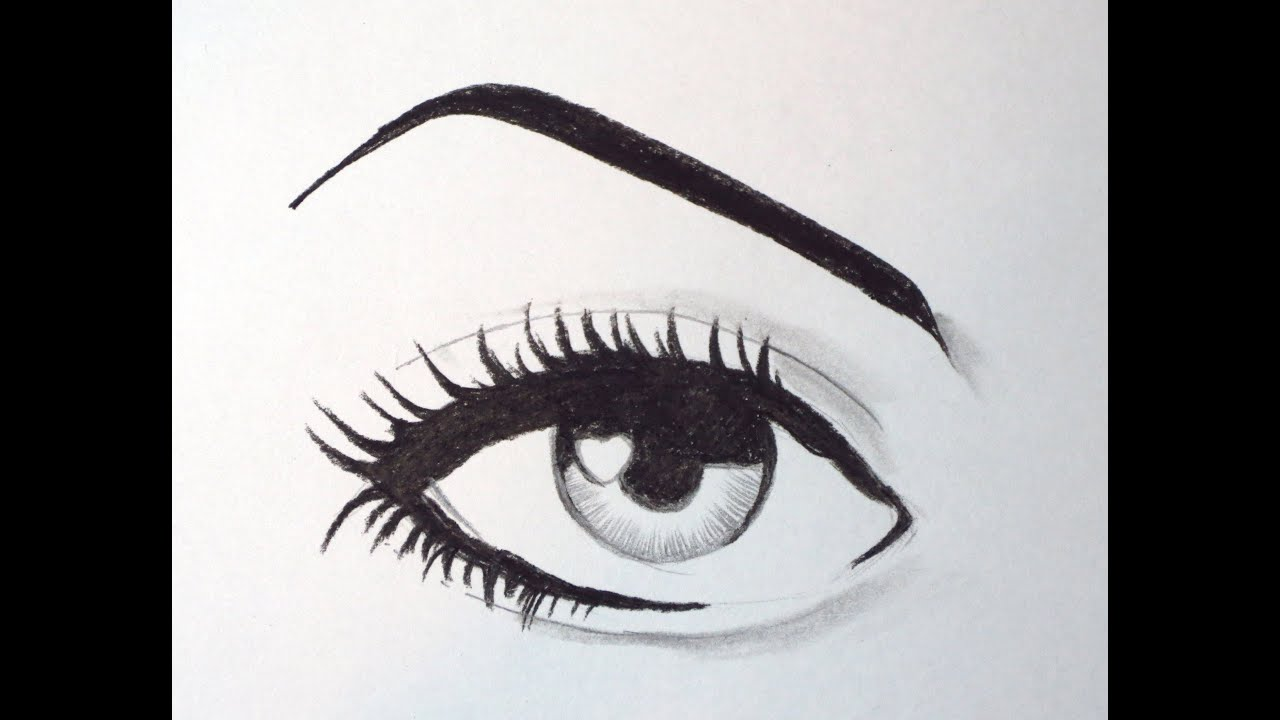 Uncategorized How To Draw Cartoon Eyes how to draw a cartoon eye youtube