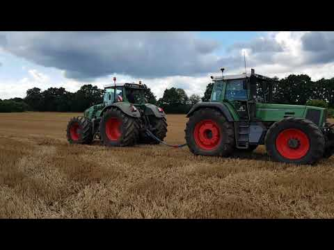 Fendt Favorit 818 mit ca 320 PS VS Fendt Vario 927 mit 271 PS