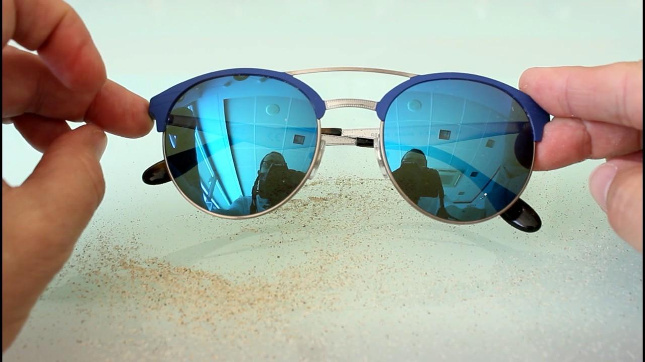 d24cc8855a Cómo limpiar las gafas espejadas después de ir a la playa. - YouTube