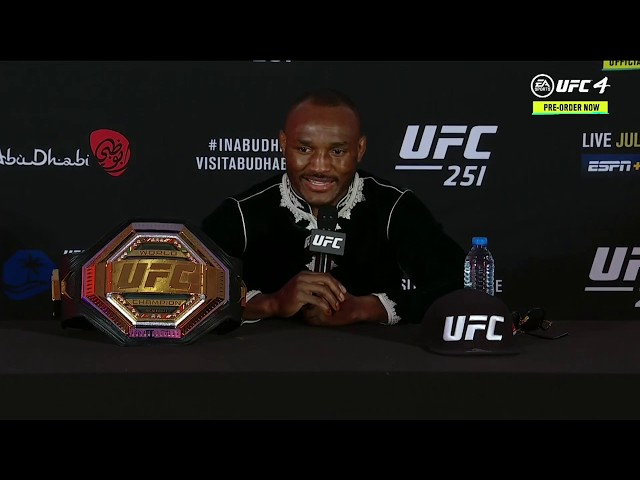 UFC 251: Kamaru Usman Post-fight Press Conference