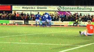 Voetbalwedstrijd SV Grol - Longa