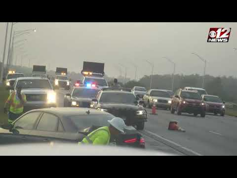 DJ Bee - WATCH: Camera captures car hitting Florida Trooper..what happened? #dablock