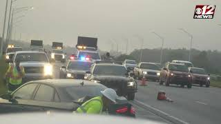 Camera captures car hitting Florida Trooper