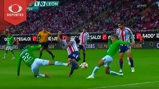 Gol de Michael Pérez | Chivas 1 - 0 León | Clausura 2019 - Jornada 16 | Televisa Deportes