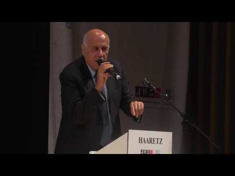 Jibril Rajoub addresses the Haaretz Israel Conference in London Part 1