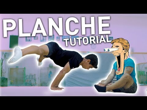 How To Do The STRADDLE PLANCHE - Tutorial And Progressions
