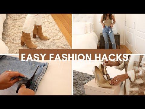 Easy Fashion Hacks 2019. http://bit.ly/2WDEyq3