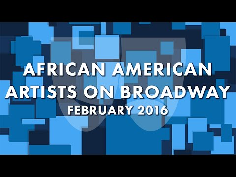 Panel: African American Artists on Broadway | Actors' Equity Association