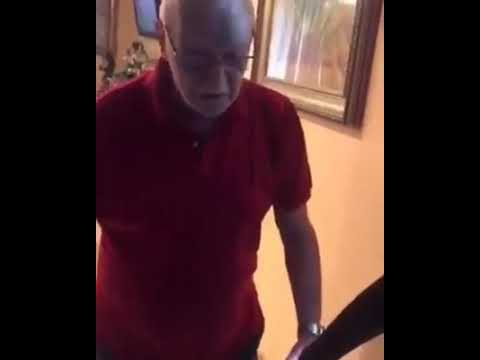 Sucking a mature guy at his home