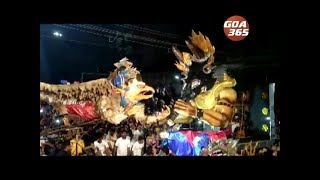 Narkasur competition held all over Goa